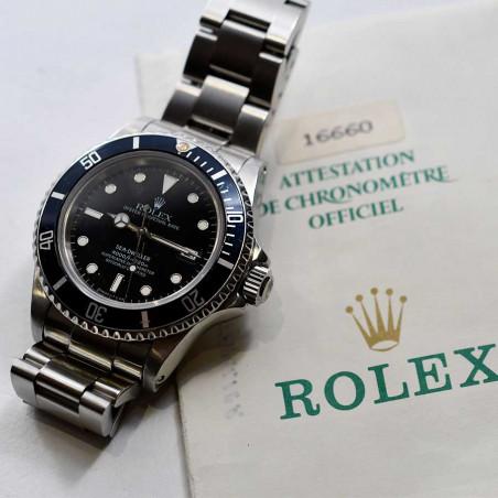 montre-collection-rolex-sea-dweller-16660-boutique-vintage-mostra-store-aix-provence-marseille-cannes-paris-france