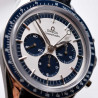 cadran-montre-de-collection-omega-speedmaster-edition-panda-blue-look-paul-newman-daytona-mostra-store-aix-en-provence