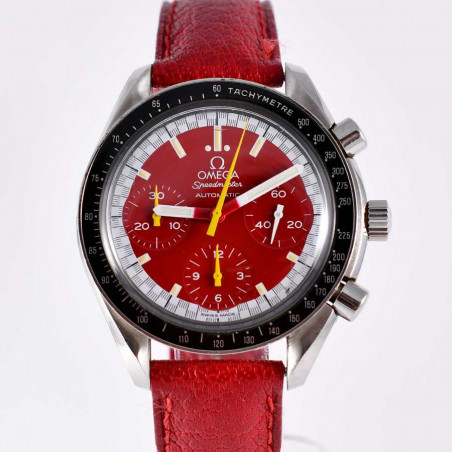 montre-omega-speedmaster-vintage-limited-edition-scuderia-ferrari-michael-schumacher-collection-chronos-courses-mostra-store-aix