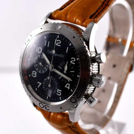 montre-breguet-collection-pilote-aviation-flyback-calibre-582q25-mostra-store-vintage-boutique-montres-collectioneurs-aix
