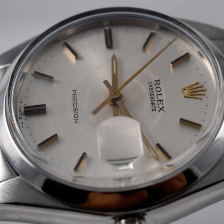 cadran-montre-rolex-precision-date-vintage-6694-oyster-collection-classique-sixties-mostra-store-shop-aix-en-provence