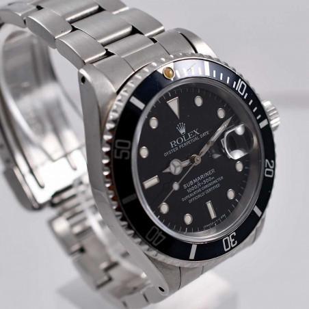 rolex-submariner-16610-calibre-3135-circa-1991-fullset-vintage-watches-shop-mostra-store-aix-en-provence-france