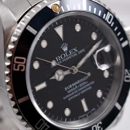 cadran-four-lines-montre-rolex-submariner-16610-calibre-3135-circa-1991-fullset-collection-mostra-store-boutique-aix-en-provence