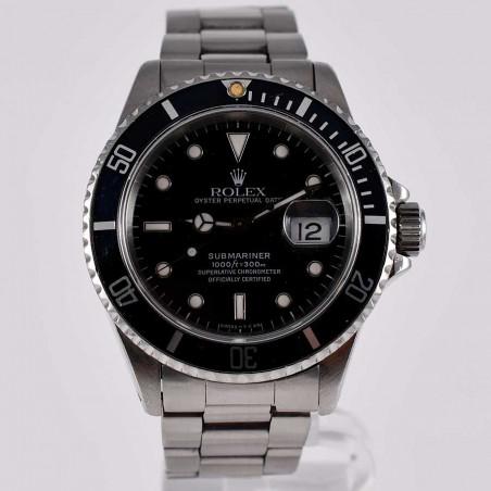 montre-rolex-submariner-four-lines-16610-calibre-3135-circa-1991-fullset-collection-mostra-store-boutique-aix-en-provence