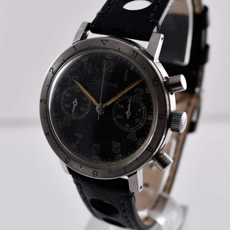 military-watch-dodane-type-20-flyback-valjoux-231-from-1954-vintage-watches-shop-mostra-store-aix-en-provence-france