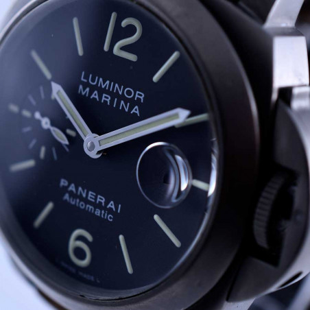 cadran-montre-panerai-luminor-marina-titane-occasion-fullset-2014-collection-plongee-boutique-mostra-store-aix-en-provence
