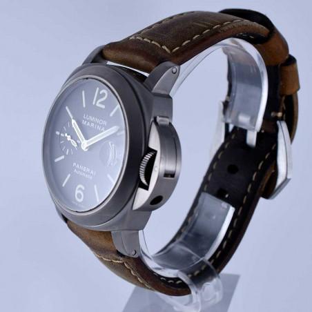 watch-montre-panerai-luminor-marina-automatic-date-titanium-fullset-vintage-watches-shop-mostra-store-aix-en-provence