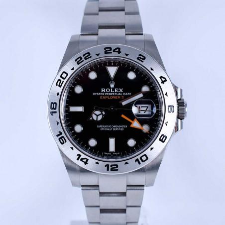 montre-collection-moderne-rolex-explorer-2-216570-occasion-luxe-boite-papiers-boutique-mostra-store-aix-provence