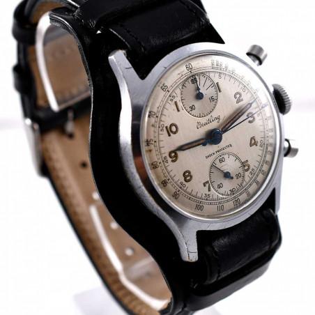 montre-de-pilote-breitling-calibre-venus-170-1943-collection-militaire-aviation-boutique-montres-vintage-mostra-store-aix