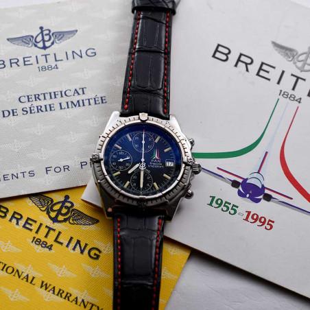 fullset-montre-breitling-chronomat-frecce-tricolori-pilote-militaire-vintage-1985-boutique-mostra-store-aix-en-provence