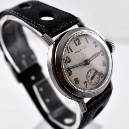 cadran-montre-waltham-collection-aviation-pilote-navigation-vintage-militaire-1942-mostra-store-aix-en-provence