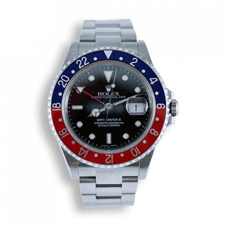 montre-de-collection-rolex-gmt-master-2-pepsi-vintage-occasion-16710-mostra-store-aix-en-provence-france