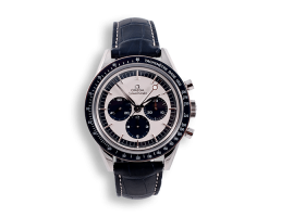 montre-de-collection-omega-speedmaster-edition-panda-blue-watch-newman-vintage-style-mostra-store-aix-en-provence