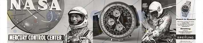 Breitling Cosmonaute Scott Carpenter Mercury 7 NASA
