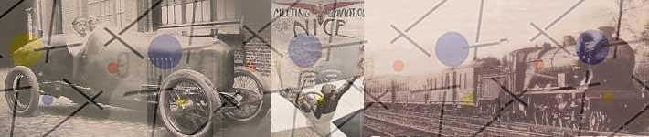 Breitling Les Voyages en 1910