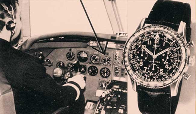 cockpit Navitimer breitling by Mostra
