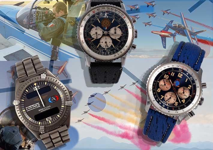Breitling Aerobatics Navitimer Patrulla aguilla patrouille de france
