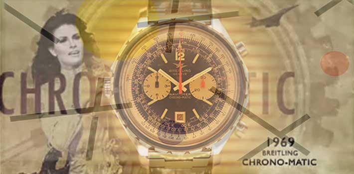 Breitling Navitimer chronomatic 1969