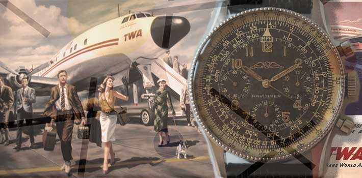 Breitling Navitimer Superconstellation TWA
