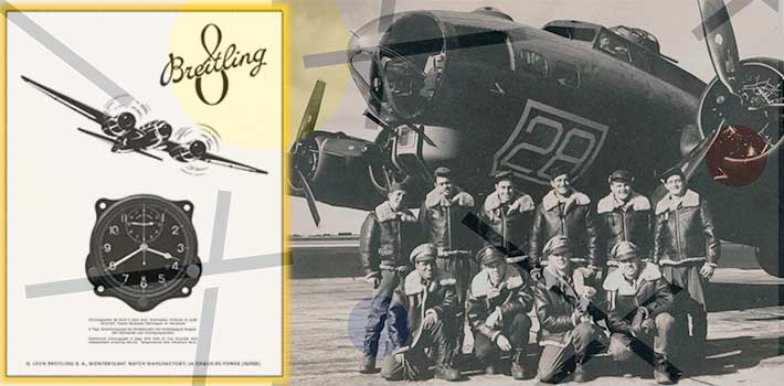 Breitling compteurs de bord USAAF