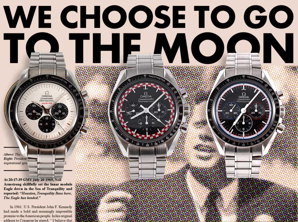 Omega choose to go moon