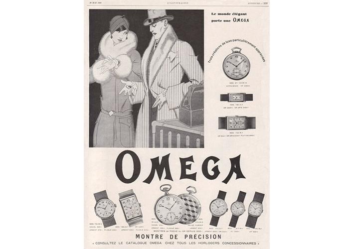 Publicité Omega vintage