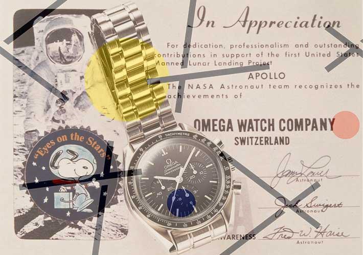Omega Speedmaster Snoopy Award diplome