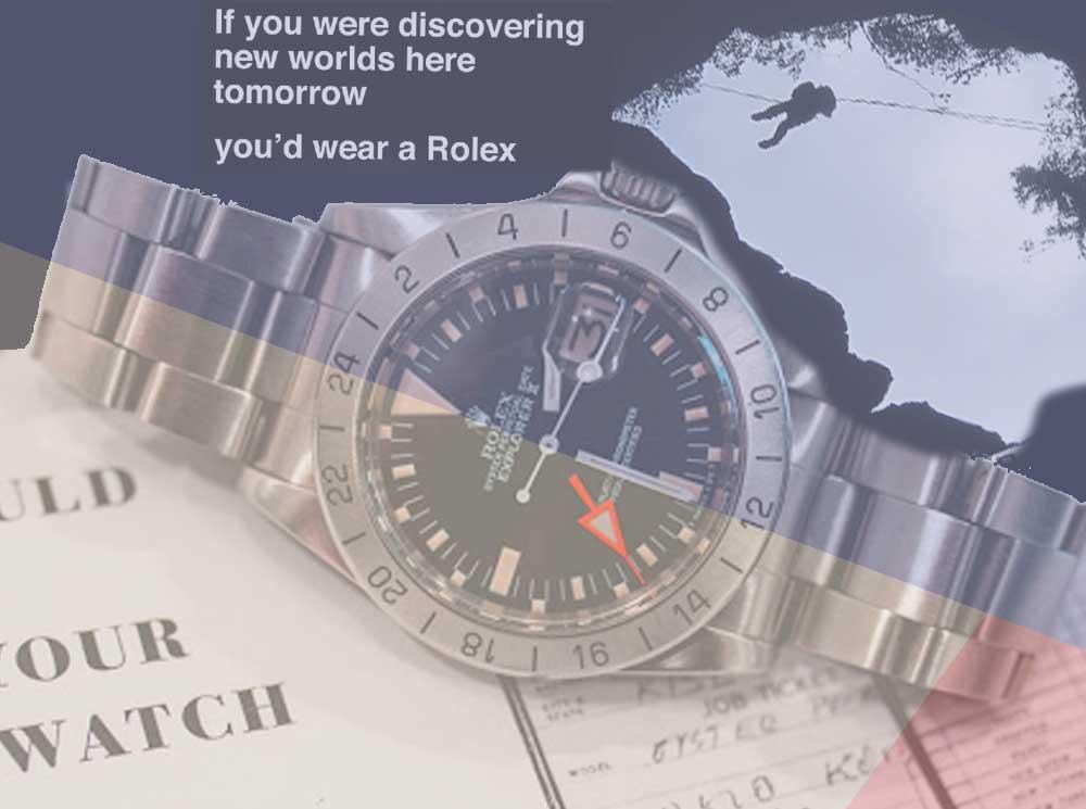 Rolex Explorer II vintage ref 1655 Story