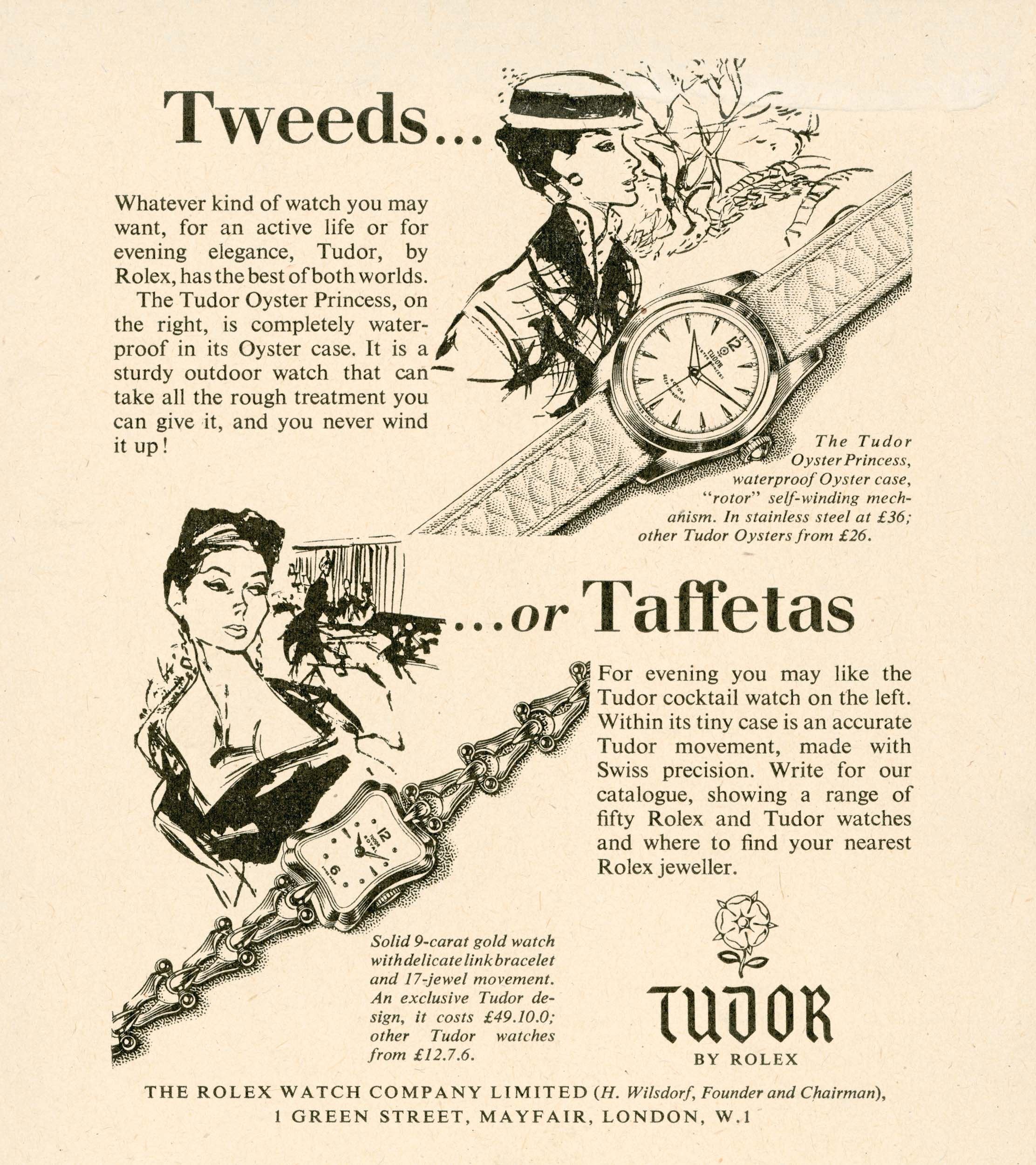 Tudor:Tweed or Taffetas