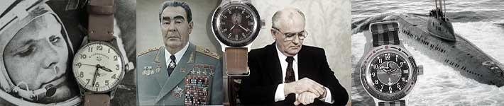 kommandirskie kgb submarine gagarine watch montre russe sovietique
