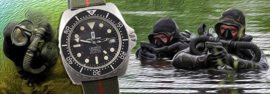 bianchi-armee-de-terre-saf-diver-watch-vintage-1993-montre-militaire-occasion-collection-military-mostra-store-montres-boutique-aix-nageurs-de-combat-marseille-toulon-aix